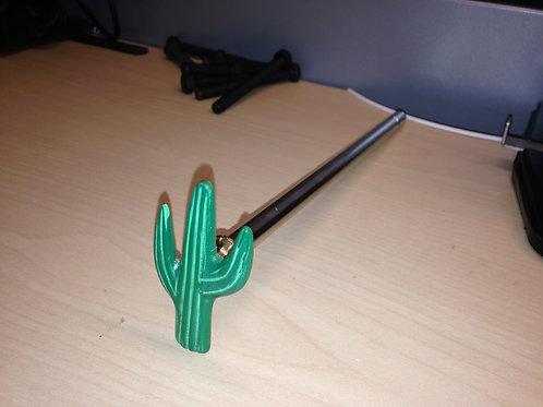 Cactus custom pinball shooter rod, Cactus Canyon, Cactus Jack