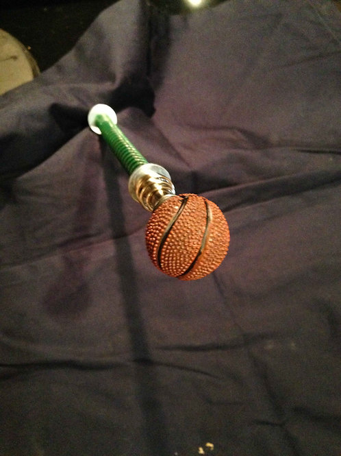 Basketball shooter rod for machines like NBA or Shaq