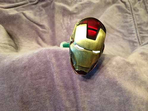 Iron Man, Avengers custom pinball shooter rod