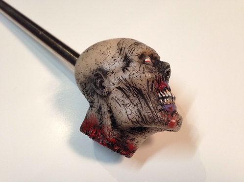 Walking Dead / Elvira custom pinball shooter rod