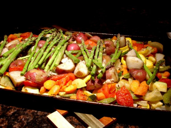 My recipe of the week ... simple roasted summer vegetables