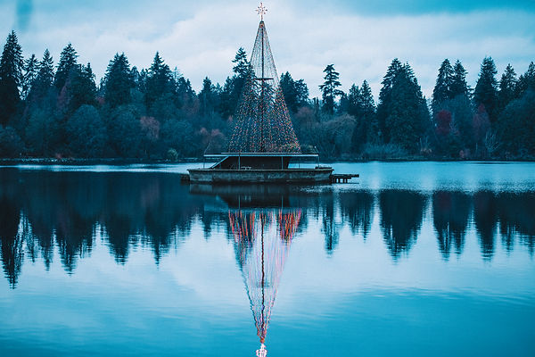 The lost lagoon, vancouver, stanley park, BC