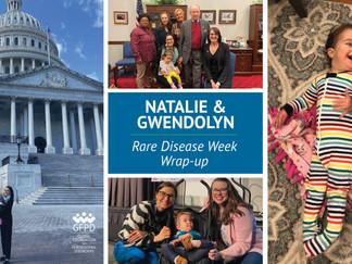 Natalie and Gwendolyn's Rare Disease Week wrap up