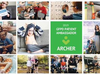 2019 Patient Ambassador - A year with Archer