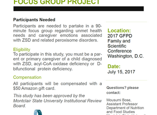 PBD-ZSD Focus Group to take place at the Family & Scientific Conference