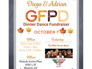 GFPD Dinner Dance to Bring Modesto, California Community Together on 10/7/2017