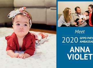 Meet 2020 Patient Ambassador, Anna Violet