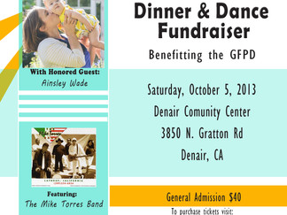 Upcoming Event: 2nd Annual Dinner Dance to Honor Diego and Adrian Alfaro
