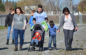 A walk for a child with a rare disease in Saint-Quentin