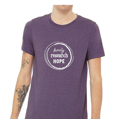 Family Research Hope - T-shirt in Purple