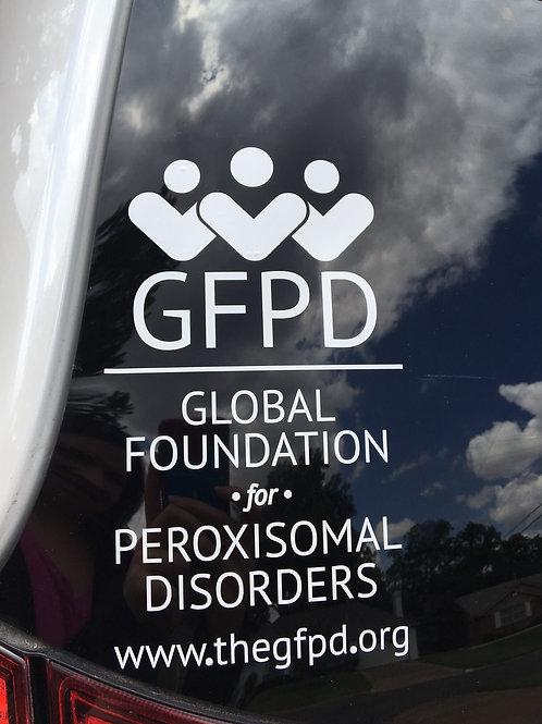 Car Decal - Large - GFPD Logo