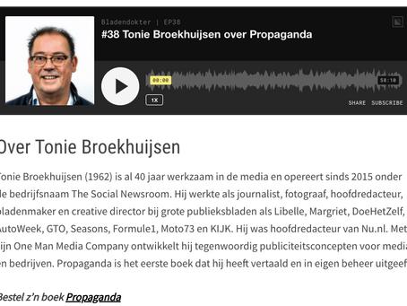Podcast Bladendokter.nl: een gesprek over propaganda in onze tijd