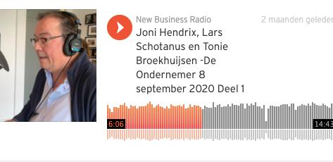 Tonie Broekhuijsen trapt nieuwe podcast-series De Ondernemer af