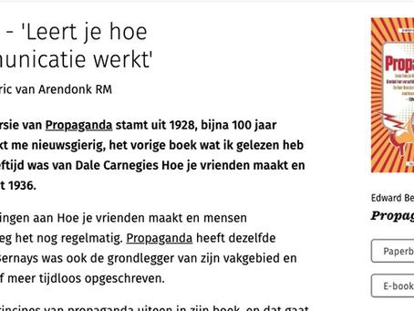 Managementboek.nl - Propaganda leert je hoe massacommunicatie werkt