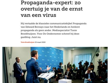 Propaganda-expert: zo overtuig je van de ernst van een virus