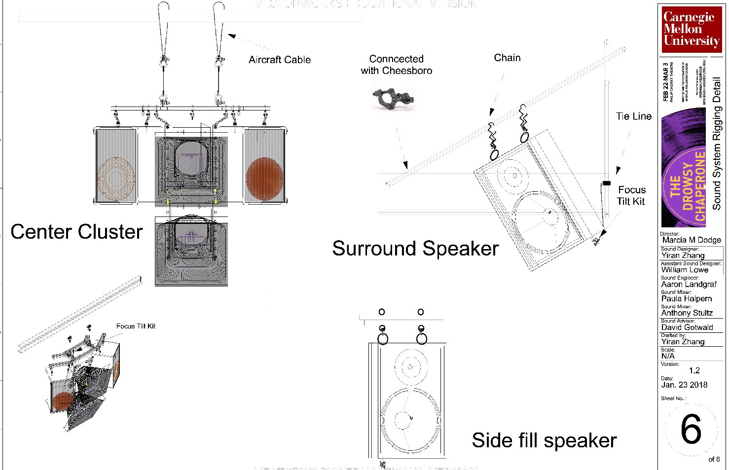 [Drowsy] Speaker Rigging Detail