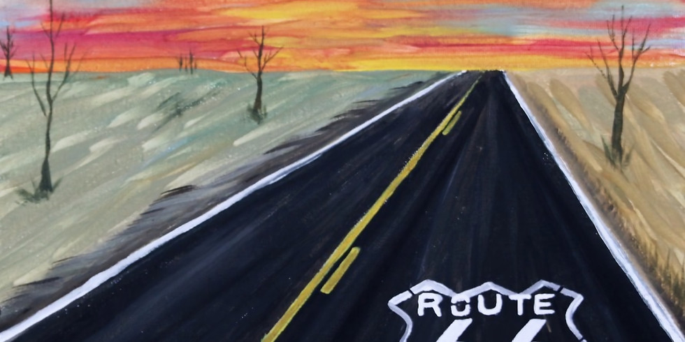 Get your Kicks and PAINT Route 66 at Shotskis