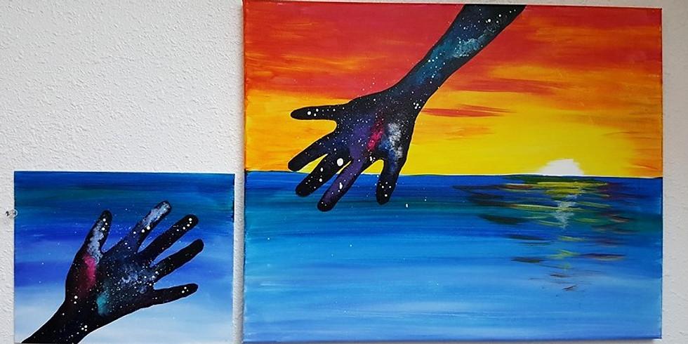 Kids Paint Free at Shotski's~A Galaxy far, far, away