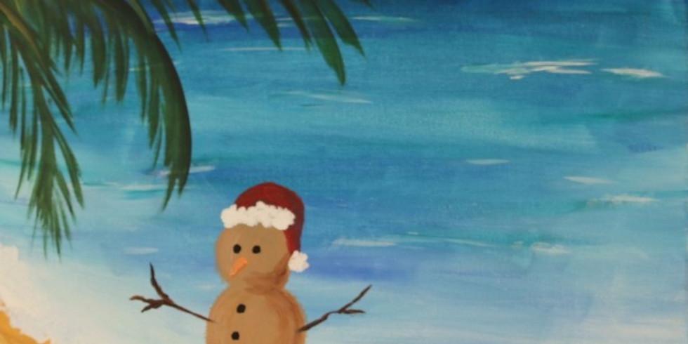 Kids Paint Free at Shotski's