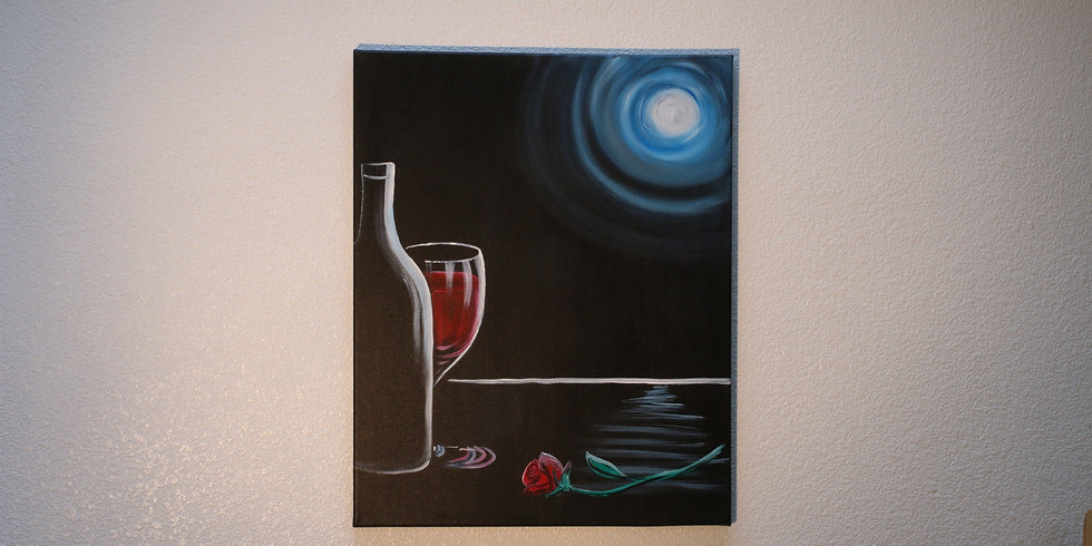 21+ Paint and Drink at Chateau Bianca Winery