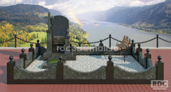 3d эскиз памятника.