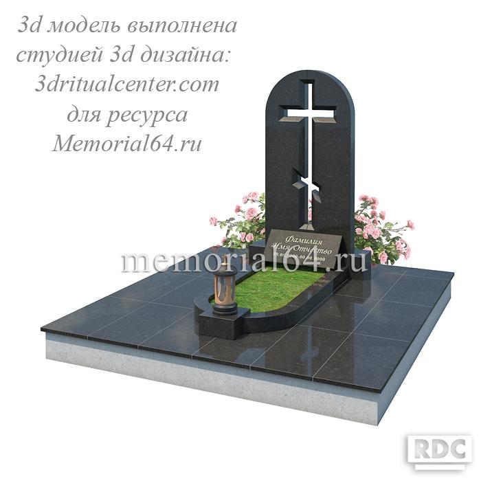 Дизайн памятника с распятием