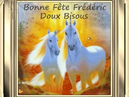 JOYEUX ANNIVERSAIRE FRÉDÉRIC !