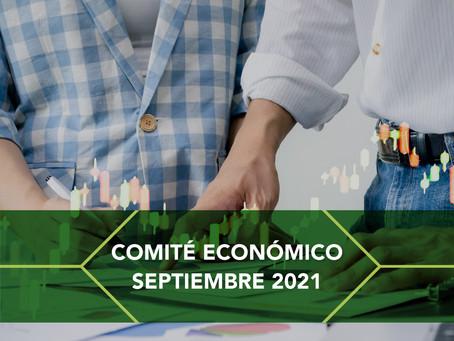 COMITÉ ECONÓMICO Y FINANCIERO SEPTIEMBRE 2021