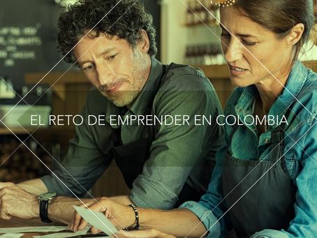 El reto de emprender en Colombia