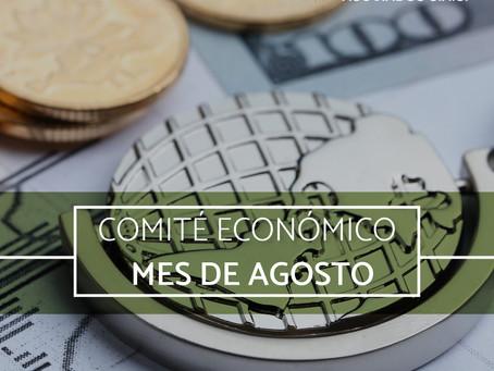 COMITÉ ECONÓMICO Y FINANCIERO AGOSTO 2021