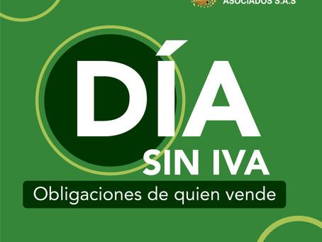 Jornadas de días sin IVA en el territorio nacional.