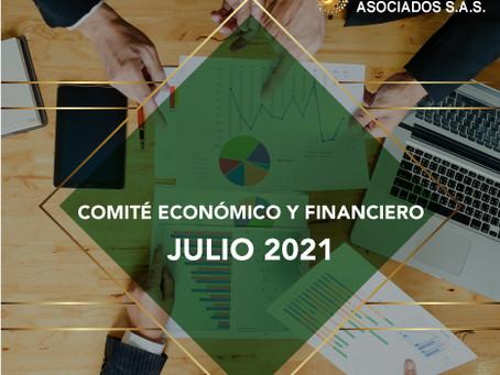 COMITÉ ECONÓMICO Y FINANCIERO JULIO 2021