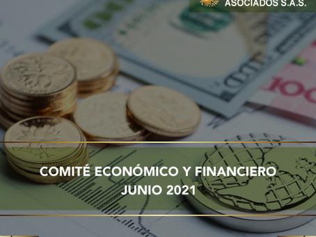 COMITÉ ECONÓMICO Y FINANCIERO JUNIO 2021