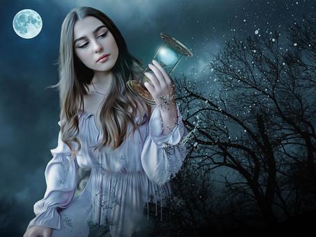 """Ritual Luna Llena """"Halloween"""" Conexión y veneración con nuestros ancestros y ritual objetivos"""
