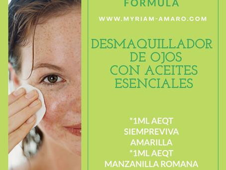 Fórmula desmaquillante de ojos con Aceites Esenciales