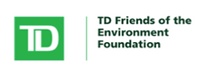 Logo of TD, reads: TD Friends of the Environment Foundation