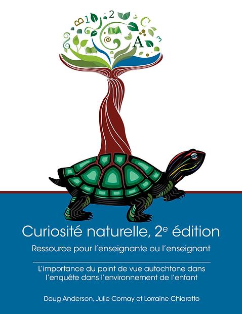 Couverture du livre: Natural Curiosity deuxième édition, avec le logo Natural Curiosity.