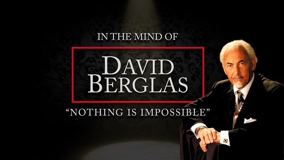 David Berglas Web Holding Page - coming