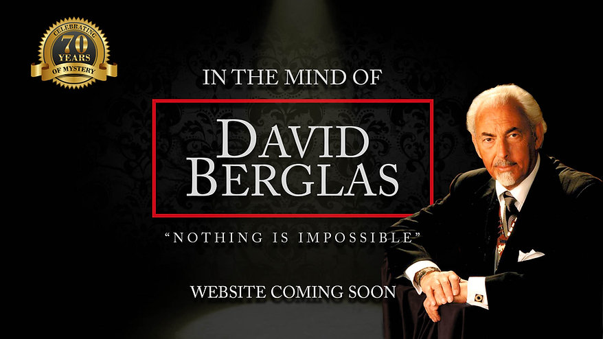 David Berglas Web Holding Page - coming