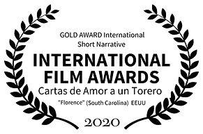 GOLD AWARD International Short Narrativ