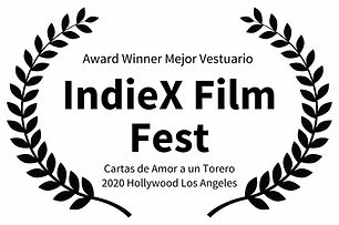 Award Winner Mejor Vestuario  - IndieX F