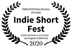 FINALISTAS Best Director Female - Indie