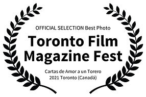 OFFICIAL SELECTION Best Photo - Toronto