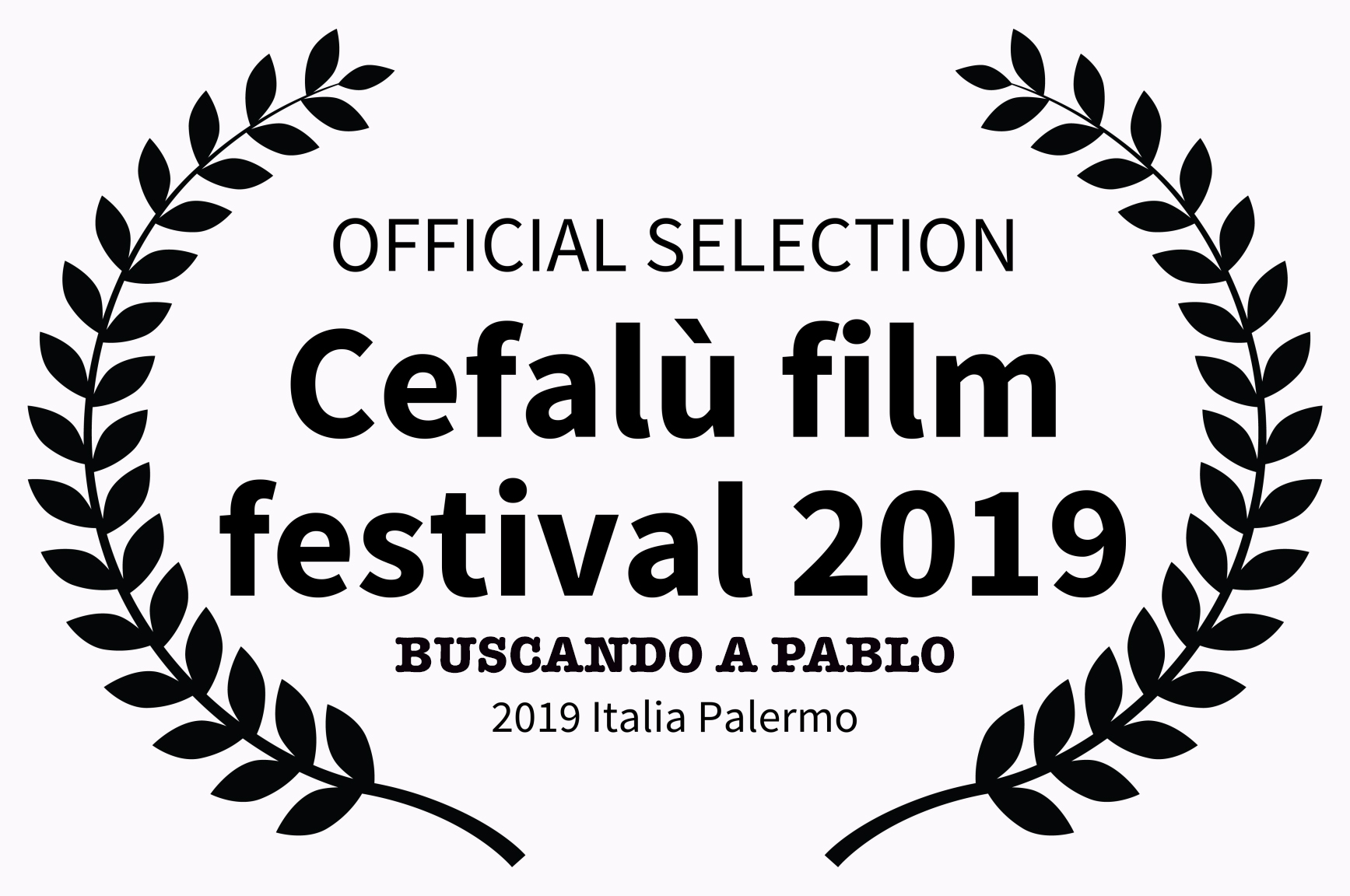 OFFICIAL SELECTION - Cefal film festival