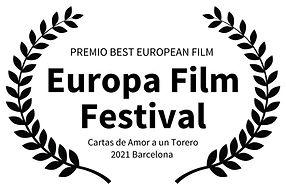 PREMIO BEST EUROPEAN FILM  - Europa Film