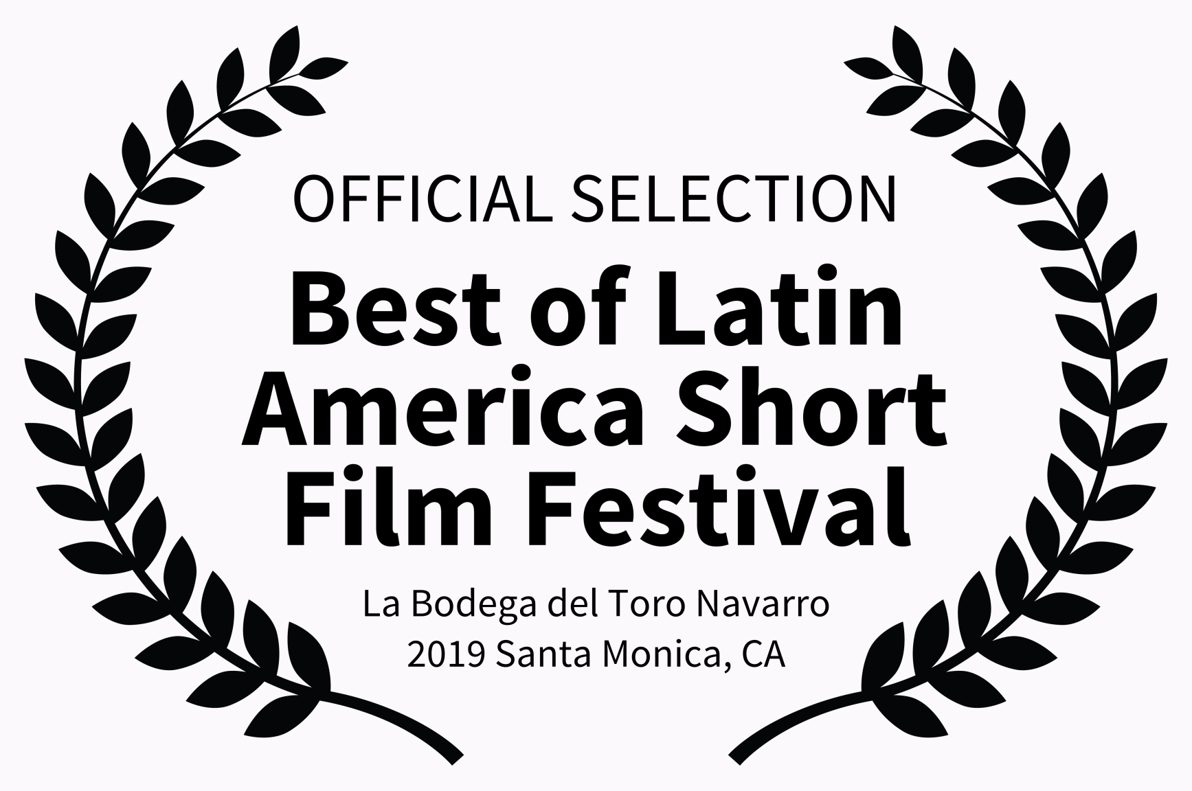 OFFICIAL SELECTION - Best of Latin Ameri