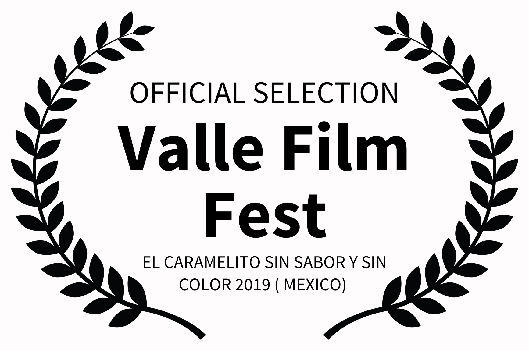 OFFICIAL SELECTION - Valle Film Fest - E