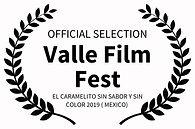 OFFICIAL SELECTION - Valle Film Fest - E