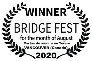 BRIDGE FEST - WINNER - for the  month of
