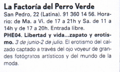 MADRID EXPOSICION FOTO ESPAÑA